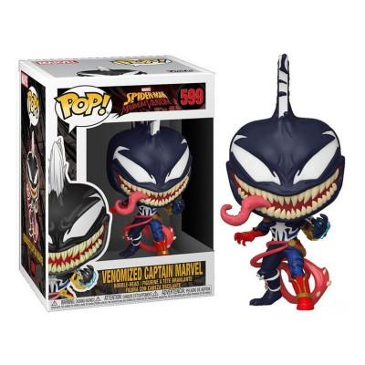 Funko Pop Max Marvel Venomized Captain Marvel