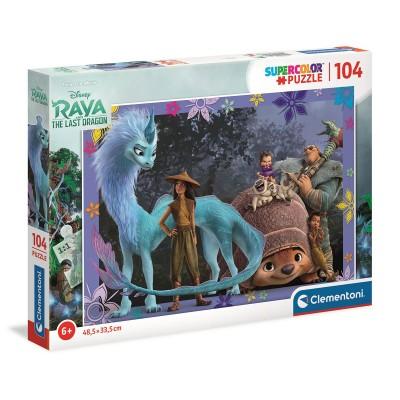Puzzle Raya and The Last Dragon 104 Parts