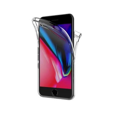 Silicone 360º Cover iPhone 7 Plus/8 Plus Transparent