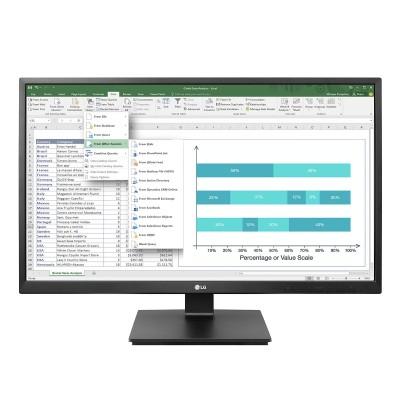 "Monitor LG 24"" IPS Full HD Black (24BK550Y-I)"