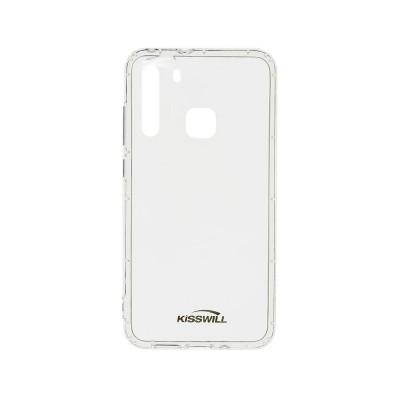 Silicone Cover Kisswill Air Samsung Galaxy A21 A215 Transparent