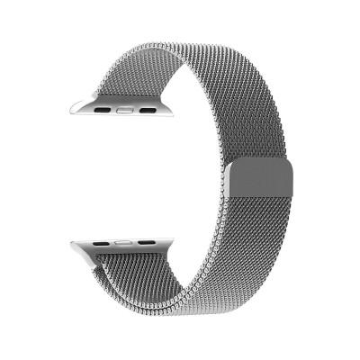Metal Watch Band Apple Watch 42/44 mm Silver