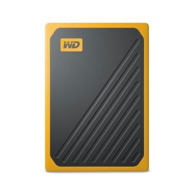 External Hard Drive Western Digital My Passport Go SSD 1TB USB 3.0 Amber