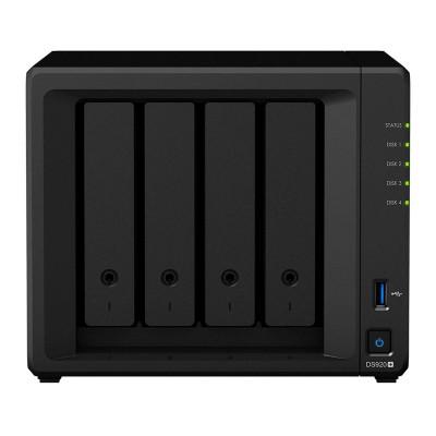 NAS Synology DiskStation DS920+ Celeron J4125 4GB 4 Bays Black