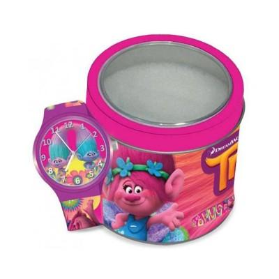 Relógio de Criança Trolls Tin Box