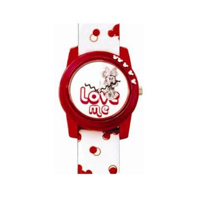 Relógio de Criança Walt Disney Love Minnie