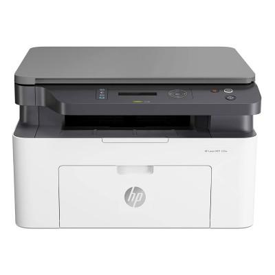 Monochrome Multifunction Printer HP Laser MFP 135w Wi-Fi White