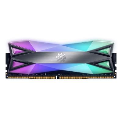 RAM Memory Adata XPG Spectrix D60G 16GB DDR4 (1x16GB) 3600MHz RGB (AX4U360016G18A-ST60)