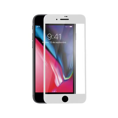 Película de Vidrio Temperado Fullscreen iPhone 7/8/SE 2020 Blanco