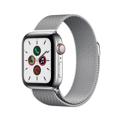 Bracelete de Metal Apple Watch Series 1/2/3/4/5 38/40 mm Prateada