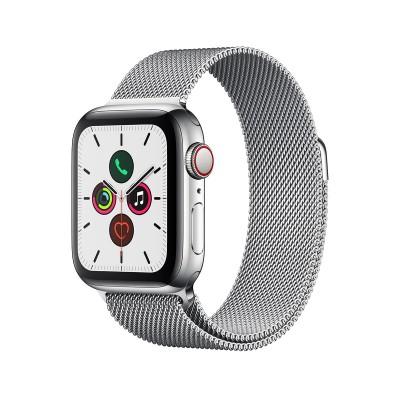 Metal Watch Band Apple Watch Series 1/2/3/4/5 38/40 mm Silver