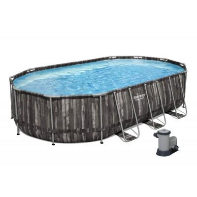 Pool Bestway 5611R 610x366x122 cm c/Bomba de Filtro
