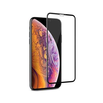 Película de Vidrio Temperado Fullscreen iPhone XS Max Negro