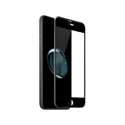 Fullscreen Tempered Glass Film iPhone 7/8 Plus Black