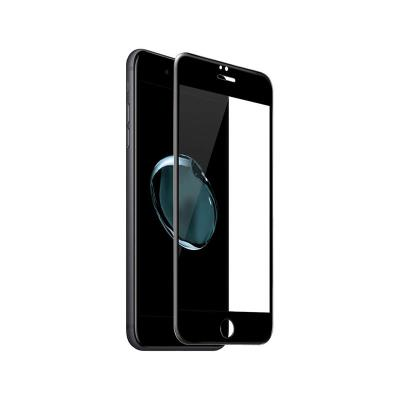 Película de Vidrio Temperado Fullscreen iPhone 7/8 Plus Negro
