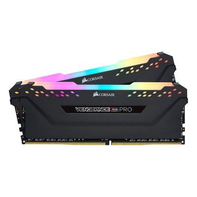 RAM Memory Corsair Vengeance RGB Pro 16GB DDR4 (2x8GB) 3600MHz (CMW16GX4M2K3600C16)