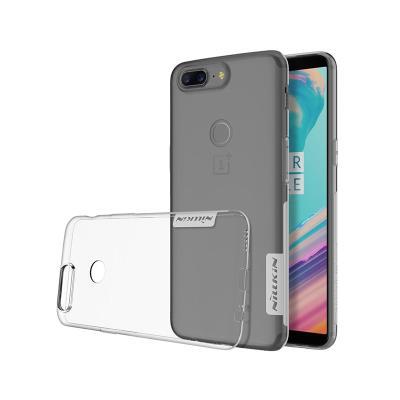 Funda Silicona Nillkin OnePlus 5T Transparente