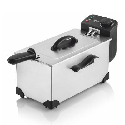 Fritadeira Haeger Deepchips 3L 2200W Inox (46130706)