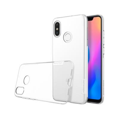 Capa Silicone Nillkin Xiaomi Mi 8 Transparente