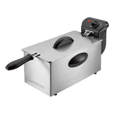 Fritadeira Clatronic 3L 2000W Inox (FR-3586)