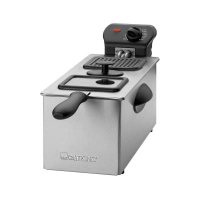 Fritadeira Clatronic 3L 2000W Inox (FR-3587)