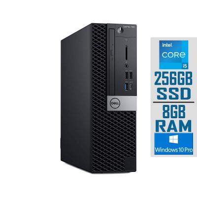 Torre Dell OptiPlex 7060 SFF i5-8500 SSD 256GB/8GB Recondicionado