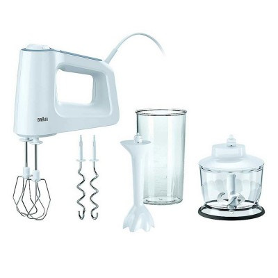 Food Mixer Braun MultiMix 3 500W White (HM3135WH)