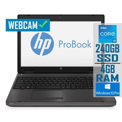 """Portátil HP ProBook 6470B 14"""" i5-3230M SSD 240GB/4GB Recondicionado"""