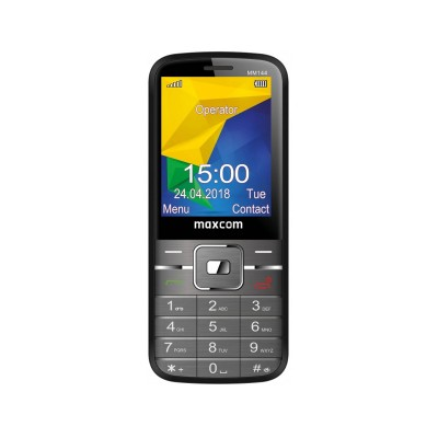 Teléfono Móvil Maxcom MM144 Negro
