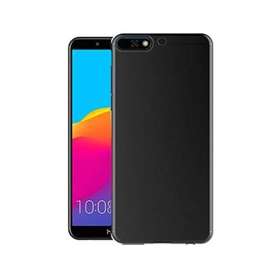 Capa Silicone Huawei Y6 2018/Honor 7A Preta