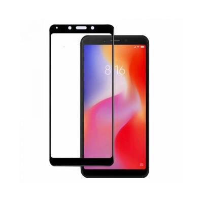 Película de Vidro Temperado Fullscreen Xiaomi Redmi 6/6A Preta