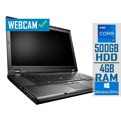 "Portátil Lenovo ThinkPad T530 15"" i7-3520M 500GB/4GB Reacondicionado"