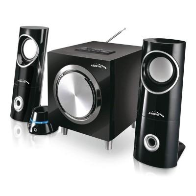 Coluna AudioCore AC790 2.1 Bluetooth Preta