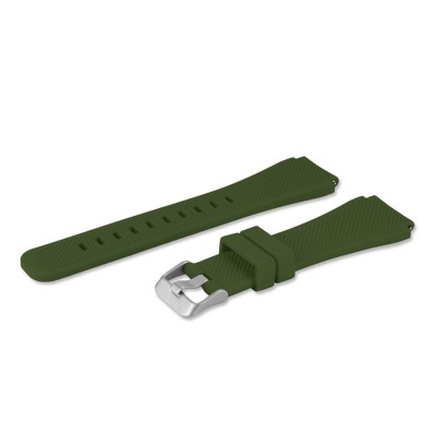 Silicone Bracelet Samsung Gear S3 Classic/Gear S3 Frontier Green