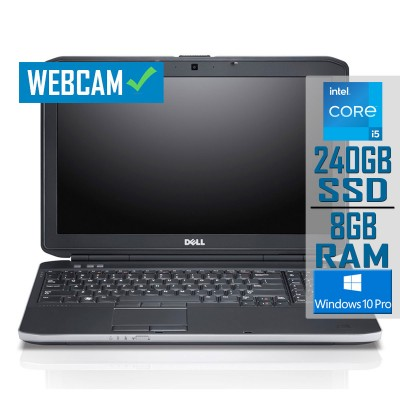 """Laptop Dell Latitude E5530 15"""" i5-3230M SSD 240GB/8GB Refurbished"""