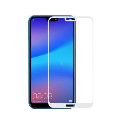 Película de Vidrio Temperado Fullscreen Huawei P20 Lite Blanco