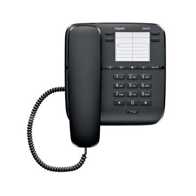 Telefone Fixo Gigaset DA310 Preto