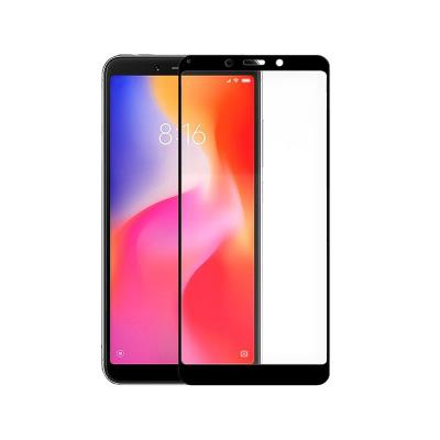 Fullscreen Tempered Glass Film 3D Xiaomi Redmi 6/6A Black