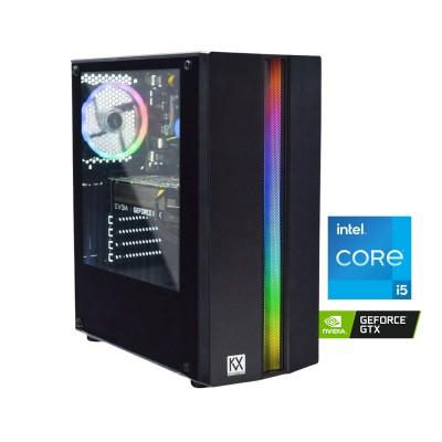 Desktop KVX Phobos 7 i5-9400F GTX 1660 Super SC SSD 256GB +1TB/16GB
