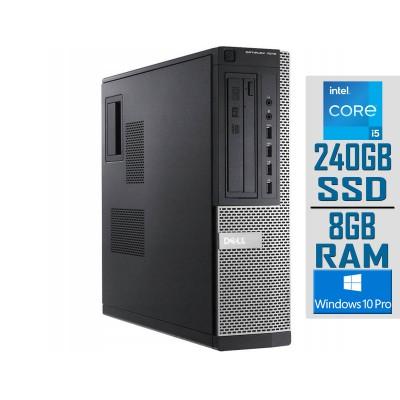 Desktop Dell OptiPlex 7010 DT i5-3470 SSD 240GB/8GB Refurbished