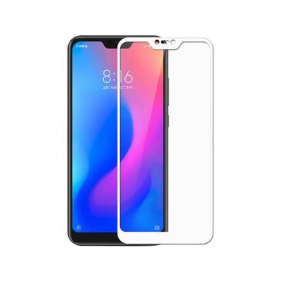 Película de Vidro Temperado Fullscreen Xiaomi Mi A2 Lite/6 Pro Branca