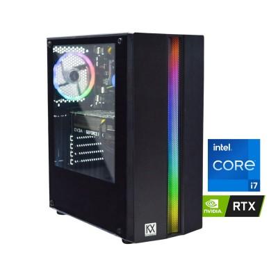 Torre KVX Phobos 1 i7-9700F RTX 3060 XC Gaming SSD 512GB + 1TB/16GB
