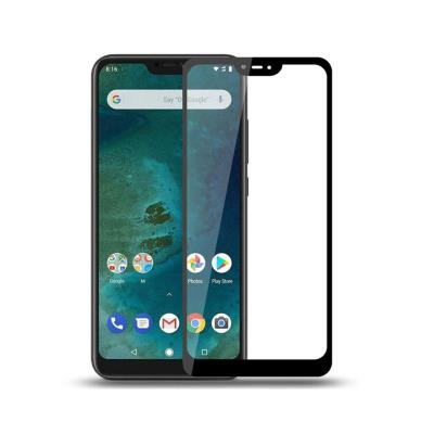 Fullscreen Tempered Glass Film Xiaomi Mi A2 Lite/6 Pro Black
