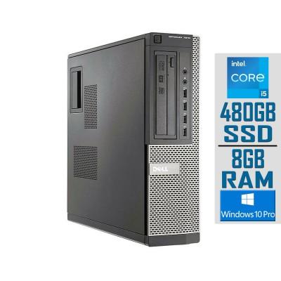 Torre Dell 7010 SFF i5-3470 SSD 480GB/8GB Recondicionado