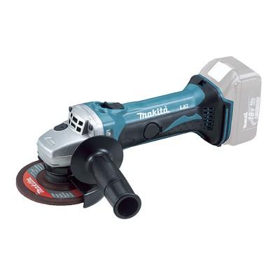 Rebarbadora Makita 115mm 18V Preta/Azul (DGA452Z)
