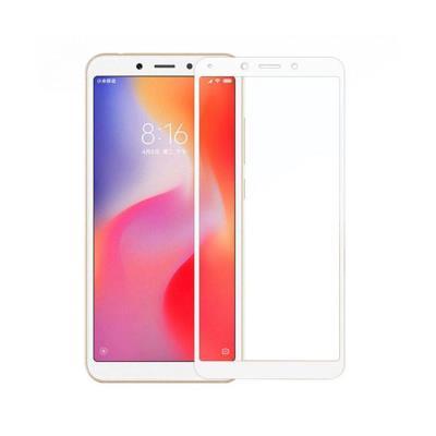Película de Vidro Temperado 3D Xiaomi Redmi 6/6A Branca