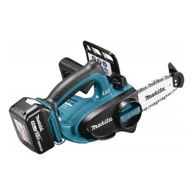 Electric Chainsaw Makita DUC122RTE 18V 11cm Blue