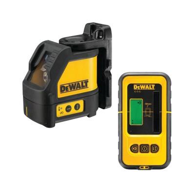Laser Level + Detector DeWALT DW088KD Yellow/Black (DE0892)