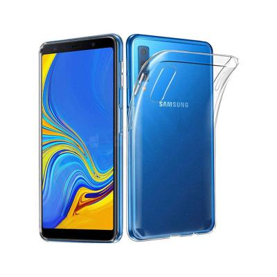 Silicone Case Samsung Galaxy A7 2018 A750 Transparent