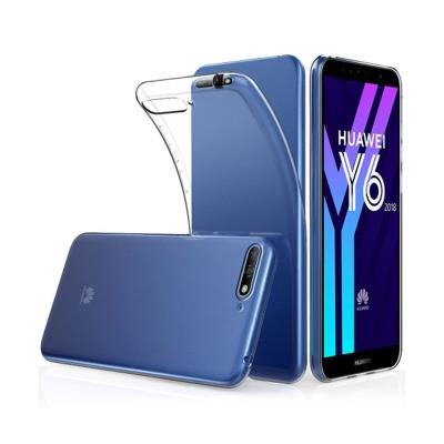 Silicone Case Huawei Y6 2018/Honor 7A Transparent